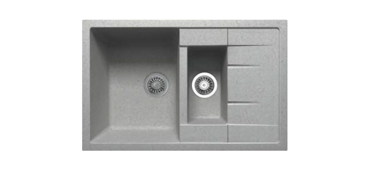Granite Series Inset Slim Top Ukinox Kitchen Sinks