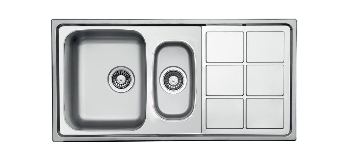 Lotus Series Inset Ukinox Kitchen Sinks Stainless