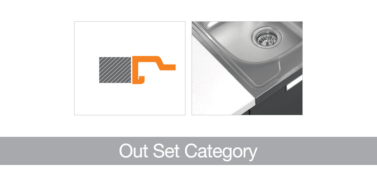 Out Set Category Ukinox Kitchen Sinks Stainless Steel