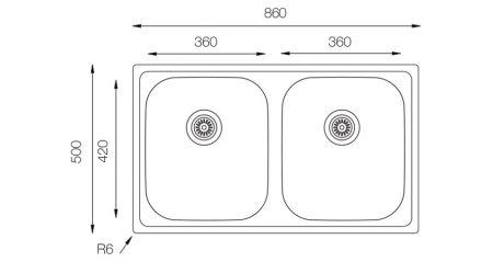 Classic-CL-860-500-20-teknikcizim