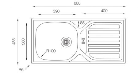 Compact-CM-860-435-W-teknikcizim