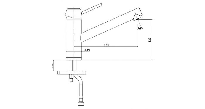 Faucet-Series-MATTO-teknikcizim