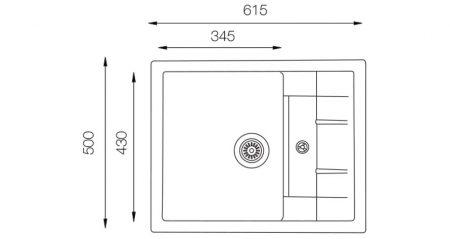 Granite-Series-ULS-615-500-teknikcizim