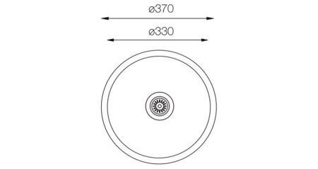 Lavatory-Series-L-330-teknikcizim
