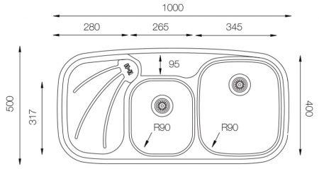 Wide-W-1000-500-18-W-teknikcizim