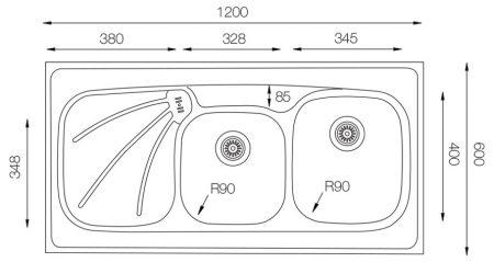 Wide-W-1200-600-18-W-teknikcizim