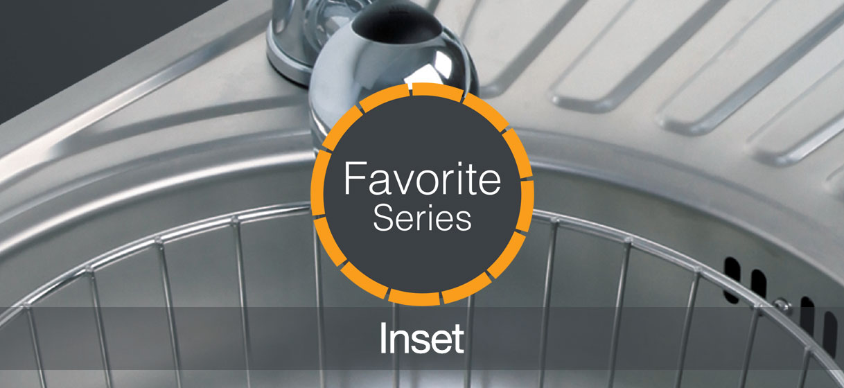 Favorite Series Inset Ukinox Kitchen Sinks